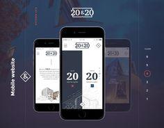 """다음 @Behance 프로젝트 확인: """"20"""