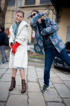 They Are Wearing: Milan Fashion Week Fall 2016 Fashion Face, Only Fashion, Love Fashion, Fashion News, Fashion Outfits, Womens Fashion, Ladies Fashion, Milan Fashion Week Street Style, Milan Fashion Weeks