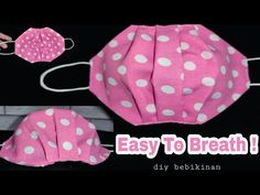 Fabric Crafts, Sewing Crafts, Sewing Projects, Easy Face Masks, Diy Face Mask, Sewing Hacks, Sewing Tutorials, Diy Mask, Mask Making