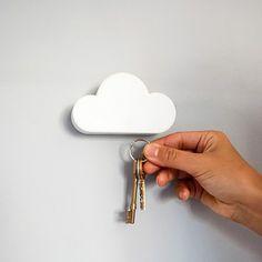 magnetic cloud key hook, i need this o__o