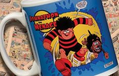 Personalised Beano Dennis and Gnasher Mug £10.99 - The Wedding Gift Company