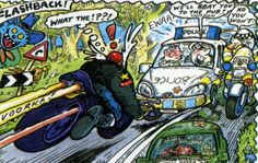 ogri Cafe Racer Motorcycle, Cafe Racers, Bikers, Cars And Motorcycles, Cartoons, Hero, Cool Stuff, Comics, Wallpaper