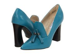 Love the color of these! // The Cool People Risque Teal - 6pm.com