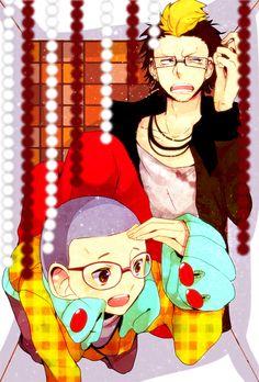 Ao no Exorcist   Blue Exorcist   Ryuji Suguro & Konekomaru Miwa   Anime   Fanart   SailorMeowMeow