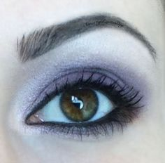 Smokey Purple Eye makeup look