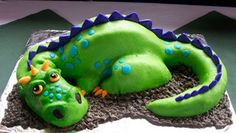 My ultimate dragon hope. Probably not this one, because it has fondant, and I've never used fondant.