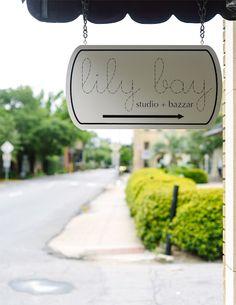 Lily Bay Studio + Bazaar in Savannah, Georgia.