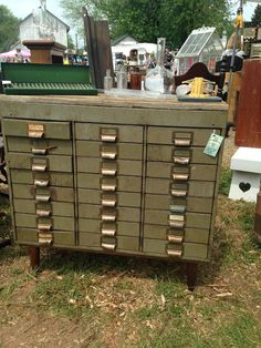 Beautiful Vintage Pieces from Lucketts Spring Market