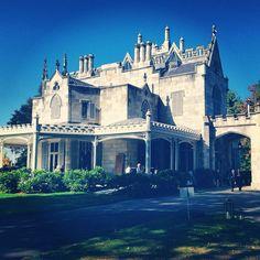 Lyndhurst Castle, Sleepy Hollow, NY #houseofdarkshadows #nightofdarkshadows #lyndhurstcastle