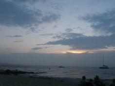 Sunset over Menemsha beach