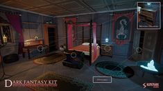 Dark Fantasy Kit is a modular PBR environment package which contains prefabs to create a residence of a villain or evil mastermind of your RPG game with an First Person, Third Person or a Top Down view. Works with Unity versions from to 3d Fantasy, Dark Fantasy, Business Design, Unity, The Darkest, Third, Environment, Game, Halloween