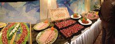 Homemade wedding banquet