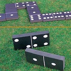 Details about giant dominoes garden patio outdoor game for kids children & family summer fun Indoor Games For Adults, Outdoor Games For Kids, Outdoor Toys, Outdoor Fun, Outdoor Ideas, Outside Games, Giant Games, Backyard Games, Lawn Games