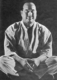One of the Greatest Martial Artist to ever live, Mas Oyama, founder of Kyokushinkai Karate. His strength and persistence should be an inspiration to us all.