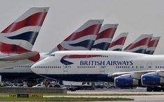 British Airways announces closure of defined benefit pension scheme British Airways 747, Manchester Airport, Boeing 747 400, Best Commercials, Aircraft Pictures, Nightlife Travel, Night Life, Aviation, Humor