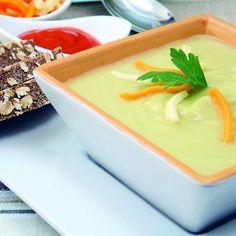 Supă-cremă cu brânză