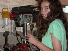 14 year old builds her own car!