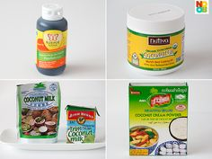 Ingredients for Pandan Waffles Recipe