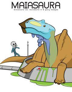 MAIASAURA (Dinosaurs vs. Marsbots)