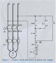 Dol power and control circuit Refrigeration and aiconditioning