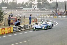 1974 Henri Pescarolo completes a hat-trick of Le Mans 24 Hours victories