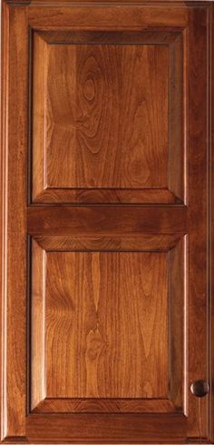 Door Style : Lancaster Square Dbl. Panel Door Type : Raised Panel Finish :  Fireside