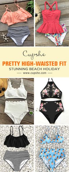 Walk or sit down nearby sea, it's awesome. You must need a delicate bikini like this. Enjoy a fun summer getaway by wearing our high-wasted swimsuits. Be stunning and hot this season. Check it out.