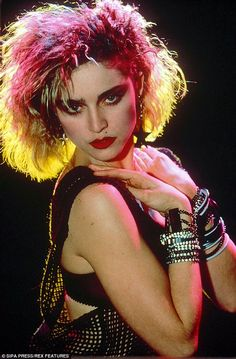 The early years:Madonna got her start in 1984 with the single Lucky Star. She also said in her docu: 'I was already famous before social media, so for me fame isn't the burden'