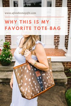 An affordable and popular, oversized tote bag you'll want to use everyday. Not to mention the only oversized tote that I've ever loved. It's the perfect everyday and travel tote. Head to the blog to check out my review on the Barrington Gifts St. Anne Tote. The fashion hand bag of 2020. | #barringtongifts #totebag #tote #work Petite Fashion, Timeless Fashion, Barrington Gifts, St Anne, Comfortable Flats, Travel Tote, Running Workouts, Casual Sweaters, Marathon Training