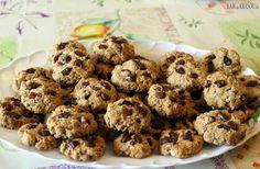 fit cookies, ovsené cookies, špaldové cookies, zdravé cookies