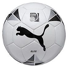 Ballon de foot Elite 2 Puma, Football Players, Football Cakes, Soccer Ball, Black Silver, Sports, Fitness, Products, Boys