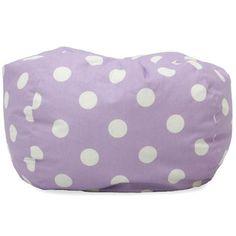 BeanSack Polka Dot Purple Bean Bag Chair | Overstock.com Shopping - Big Discounts on Comfort Research Bean & Lounge Bags