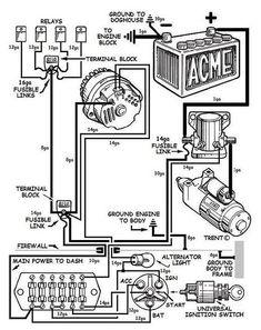 Alternator wiring diagram toyota corolla