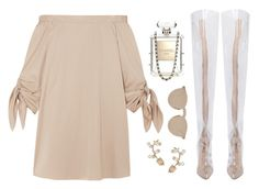 Relaxed by silhouetteoflight on Polyvore featuring polyvore fashion style TIBI Valentino Illesteva Chanel clothing
