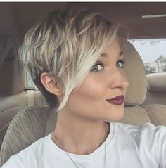 Asymmetrical short hairstyle, young women hairstyle - Short Hair Asymmetrical short hair young women hairstyle in 2017, ladies and gentlemen, come with kinds of 2017...