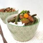 Gezonde en snelle maaltijd kip & groente in sojasaus