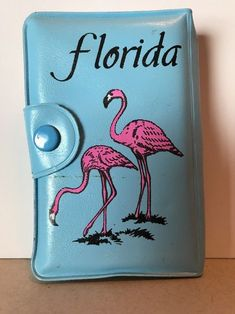 Vintage Playing Cards Florida Flamingo Snap Case Sealed Card Deck and score pad  | eBay