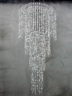 Best Acrylic Crystal Chandeliers Images On Pinterest Chandeliers - Chandelier acrylic crystals