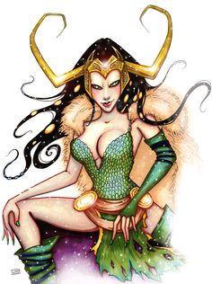 Señora Loki por HollyTheTerrible