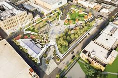 The City of Stonnington council has revealed designs for a new park in place of what is currently a carpark in Melbourne's Prahran, designed by Lyons Architecture and Aspect Studios.