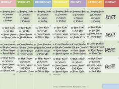 Week Exercise Routine