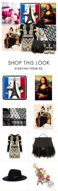"""Bonjour Paris!"" by velvy ❤ liked on Polyvore featuring Michael Kors, For Love & Lemons, Chanel, Larose, Lenora Dame and Yves Saint Laurent"