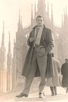 MENSWEAR : serious vintage swagger  - I wish men still were like this