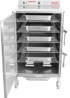 Our largest commercial model CXLD-1500 is tested to NSF/ANSI Standard 4 by INTERTEK and ETL listed. SmokinTex electric, stainless steel smoker ovens are used in some of the best restaurants and catering businesses in the country. Chefs know that when you prepare a meal with a SmokinTex smoker your guests will come back and order it again and again.