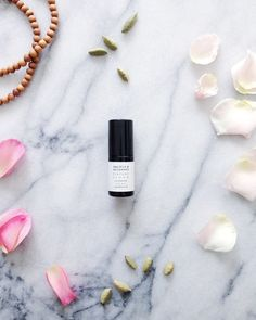 rose, cardamom & sandalwood botanical perfume // marble & milkweed