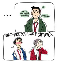 aww yeah they were fighting all right ((Wrightworth 1/2)