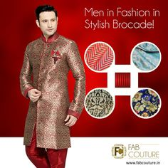 Stylish Brocade fabric in bright and vibrant colors is the perfect pick for weddings and functions. It gives you a vibrancy which helps you stand apart from the rest.  Get your stuff at :https://fabcouture.in/brocade.html#FabCouture  #Fabric#Fashion#TraditionalLook#ModernMen#MensFashion#Brocade#WeddingFashion#IndianLook#affordablefashion#GreatDesignsStartwithGreatFabrics#ConfidentMen#StylishMen#VibrantColors#StandApartfromtheCrowd