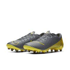 timeless design dd38e 41876 Nike Vapor 12 Academy MG Multi-Ground Football Boot - Grey Nike Vapor,  Football
