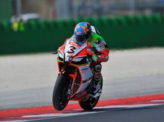 Max Biaggi race action shot