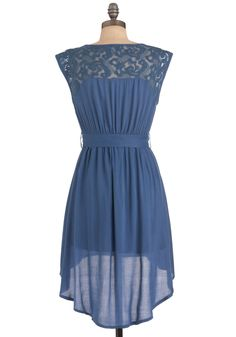 As You Lake It Dress. Take a dip into sun-ready, fun-worthy fashion by slipping into this breezy dream of a dress. #blue #modcloth